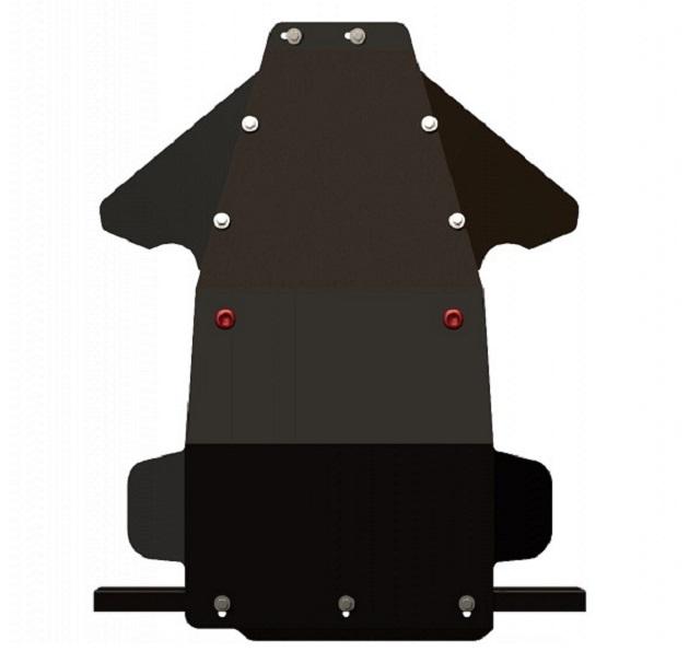 Защита днища, комплект для Lada Niva