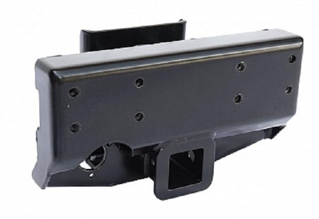 Переходник РИФ для фаркопа в штатный задний бампер Ленд крузер 200.