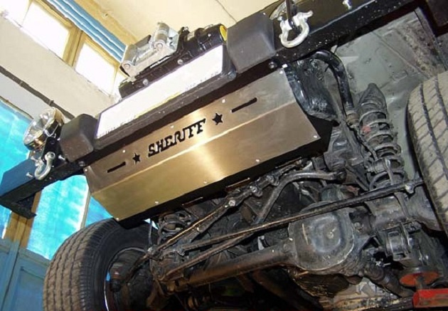 Защита картера (Двигателя) Jeep Wrangler (с 1996 по 2006)