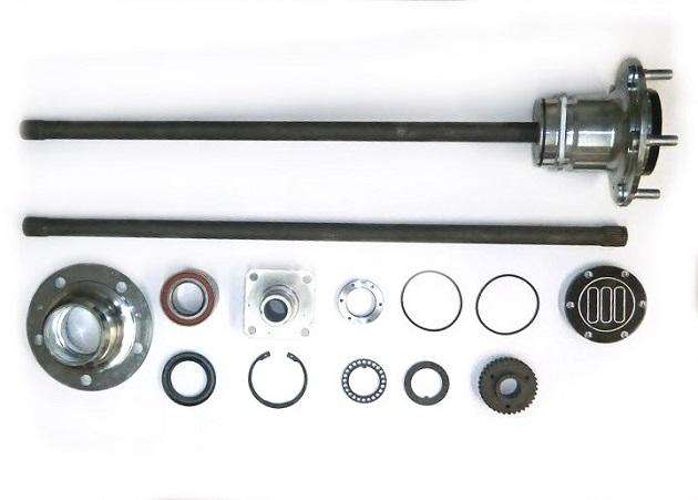Комплект разгруженных полуосей НИВА (22 шлица/750 мм).