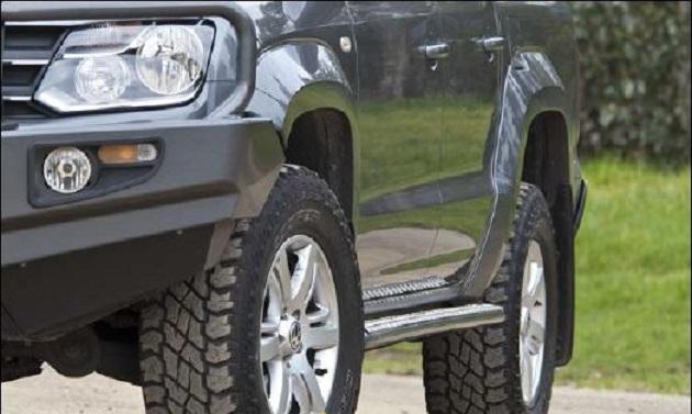 Пороги ARB для VW Amarok