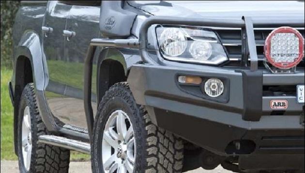 Пороги ARB с защитой крыла для VW Amarok