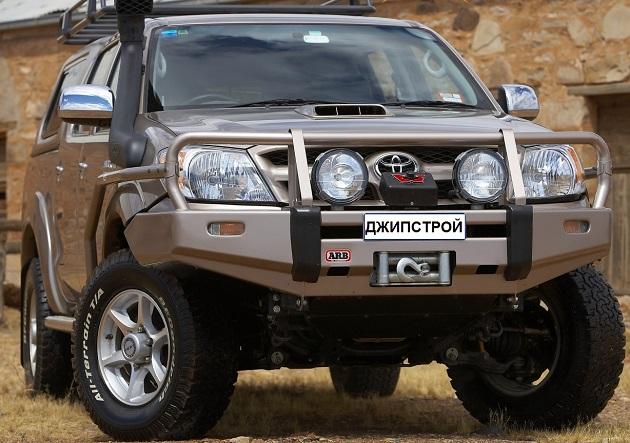 Пороги ARB с защитой крыла для Toyota Hilux Vigo.