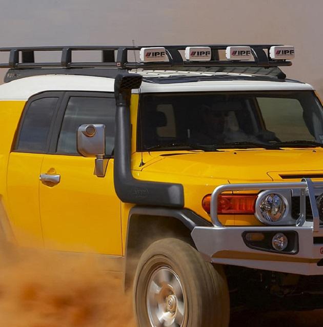 Алюминиевый багажник ARB 2200х1120мм. С установочным комплектом для Toyota FJ Cruiser.