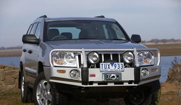 Бампер передний ARB Deluxe для Jeep Grand Cherokee WH/WK с 2005 до 2007 года.