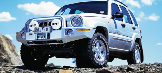 ARB: Deluxe Combination Bar Jeep Cherokee (Liberty) KJ Early