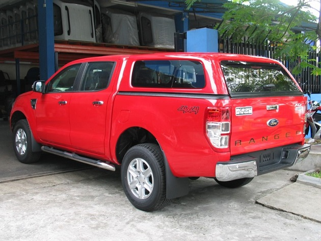 Кунг AEROKLASS АBS на Ford Ranger T6