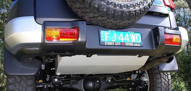 Дополнительный топливный бак 84 литра для Toyota FJ Cruiser