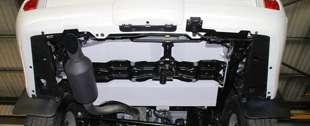 Дополнительный топливный бак 70 литров для Toyota LC 200