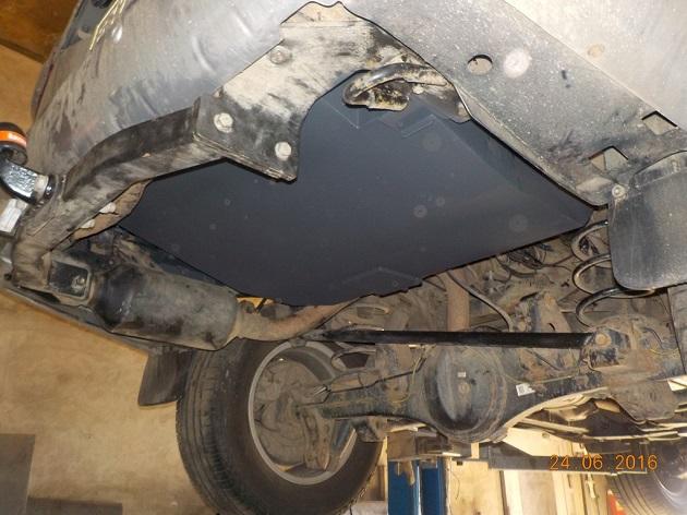 Дополнительный топливный бак 120 литров для Toyota LC 200
