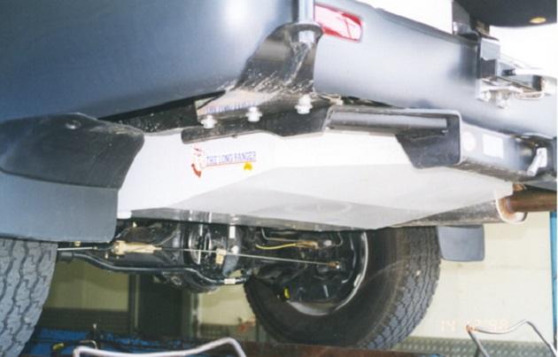 Дополнительный топливный бак 182 литров для Toyota LC 100