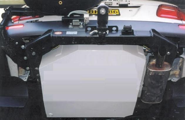 Дополнительный топливный бак 180 литров для Toyota LC 105