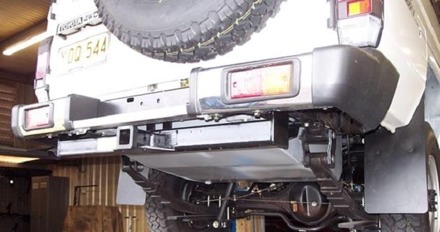 Топливный бак 180 литров для Toyota LC 78 с 2007 года. Дизель.