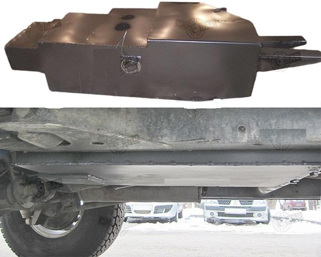 Дополнительный топливный бак 65л для NissanPatrol