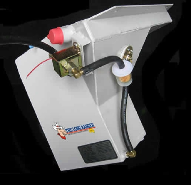Дополнительный топливный бак 60 литров для Nissan Navara D40 Бензин.