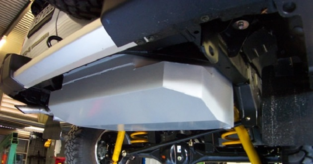 Топливный бак 145 литров для Nissan Patrol Y61