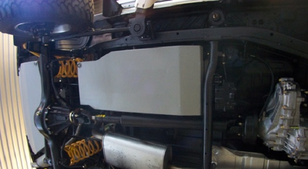 Дополнительный топливный бак 70 литров для Nissan Patrol Y61