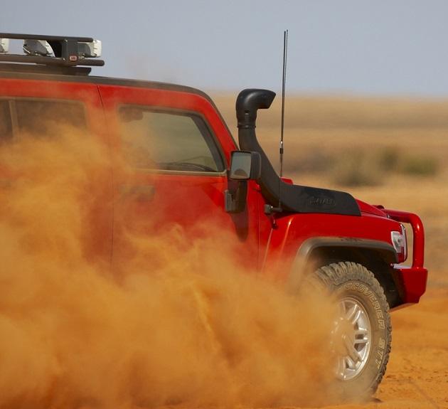 Шноркель Safari для Hummer H3.