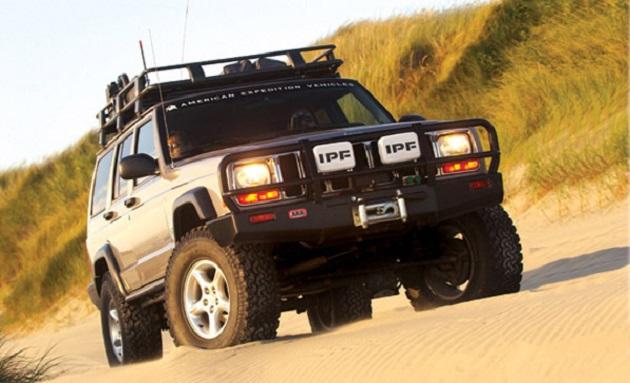 Бампер переднийARBDeluxe Winch Bar Jeep Cherokee XJ Late