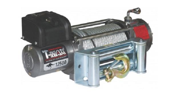Электрическая лебедка T-Max EW-12500 OFF-ROAD Improved