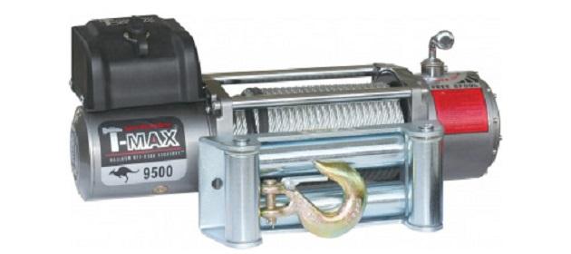 Электрическая лебедка T-Max EW-9500 OFF-ROAD Improved