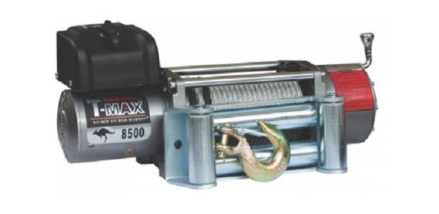 Электрическая лебедка T-Max EW-8500 OFF-ROAD Improved