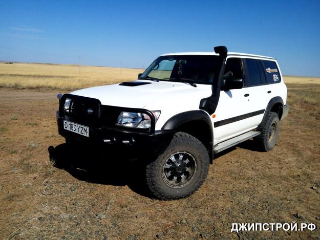 Казахстан - Силовые бамперы Патрол 61