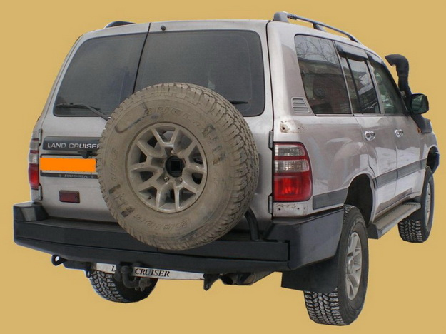 Задний силовой бампер Toyota Land Cruiser 105
