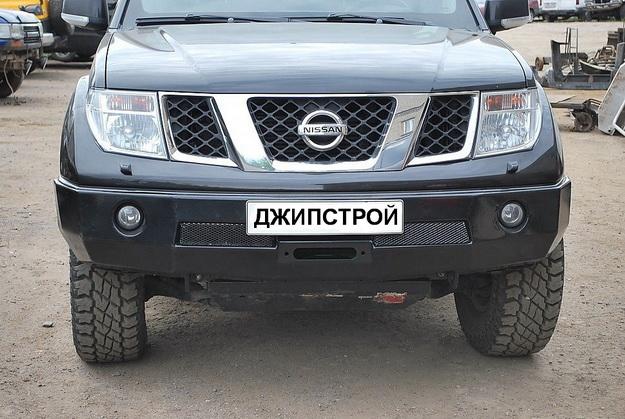 передний обвес на на nissan pathfinder 2008