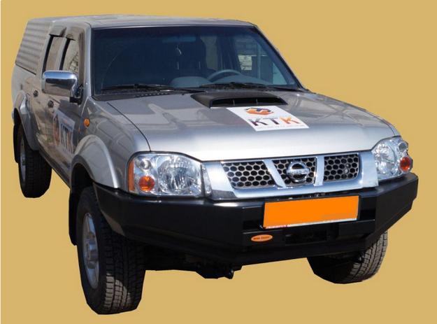 Передний силовой бампер Nissan Np-300