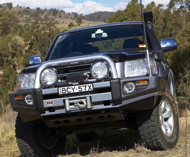 Бампер передний ARB Sahara для Ford Ranger.