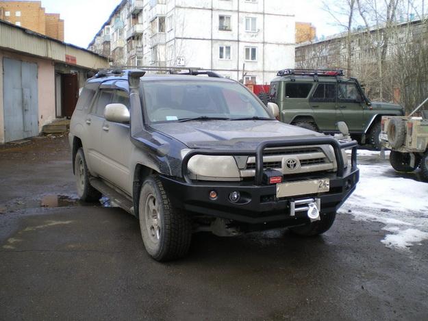 Передний силовой бампер Тойота