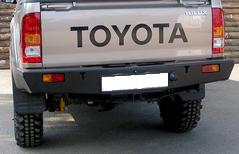 Задний силовой бампер Toyota Hilux