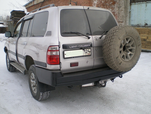 Силовой бампер Toyota Land Cruiser