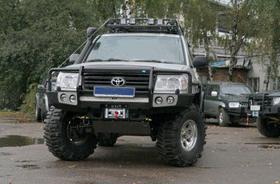 Передний силовой бампер Toyota Land Cruiser 100-105