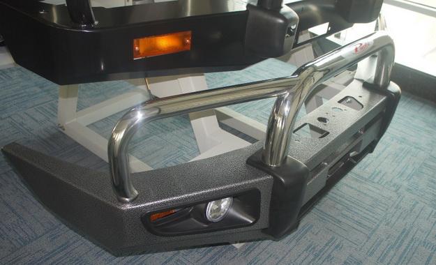 Силовой бампер Land Cruiser 105