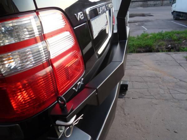Задний силовой бампер Toyota Land Cruiser 100/105 с калиткой