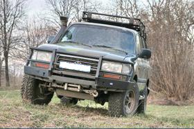 Передний силовой бампер со съемным кенгурином Toyota Land Cruiser 80