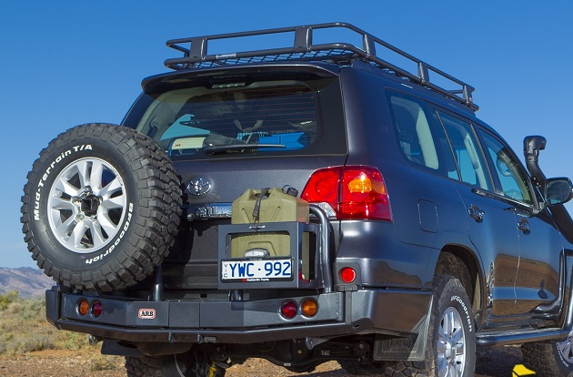 Бампер задний ARB для Toyota Land Cruiser 200.
