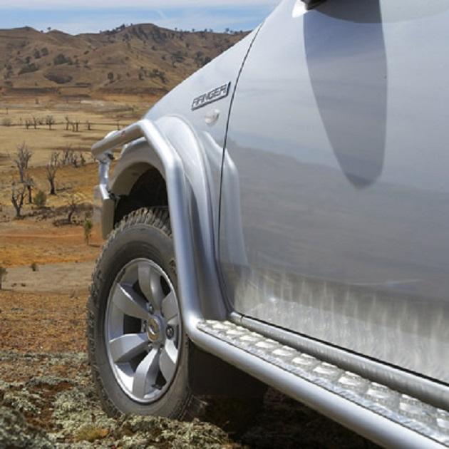 ARB: Пороги с защитой переднего крыла Ford Ranger/Mazda BT-50