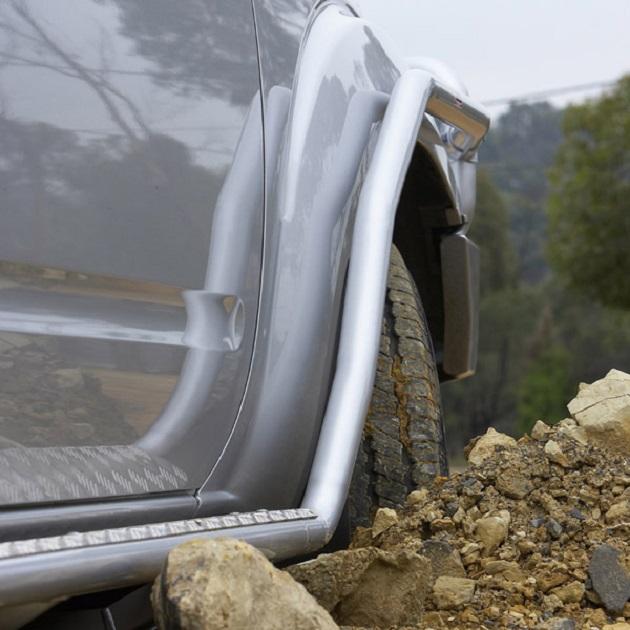 ARB: Пороги с защитой переднего крыла Mazda B2500 1999-2007