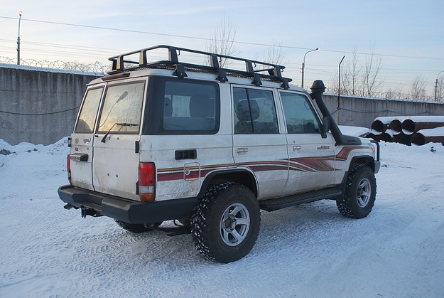 Силовые пороги Toyota Land Cruiser 70 - 79