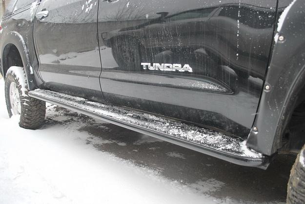 Силовые пороги Тойота Тундра