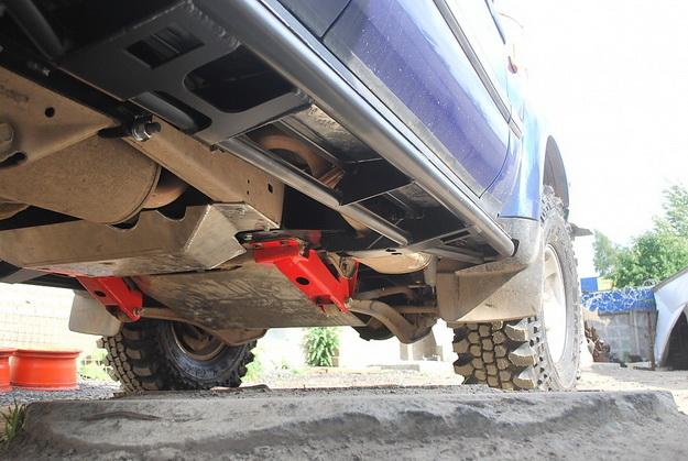 Лифт комплект подвески Toyota Land Cruiser 80 и 105