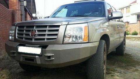 Силовой бампер Cadillac Escalade