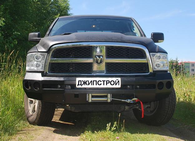 Бампер передний Dodge Ram