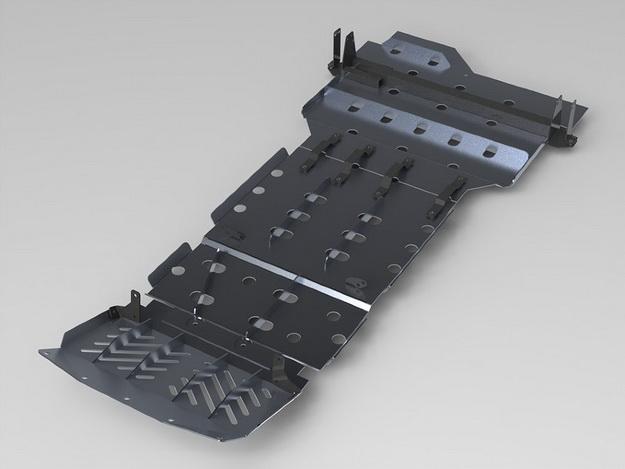 Комплект защиты днища Nissan NavaraАМЗ