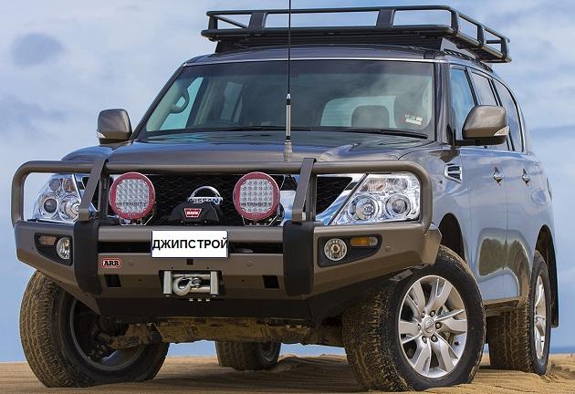 Багажник ARB 2200х1350мм. С установочным комплектом для Nissan Patrol Y62