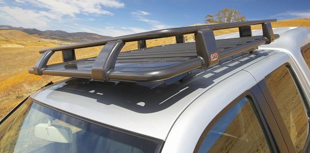 Багажник ARB на крышу кабины водителя Deluxe 1250x1120 мм. С установочным комплектом для Mitsubishi L200 с 2006 года.