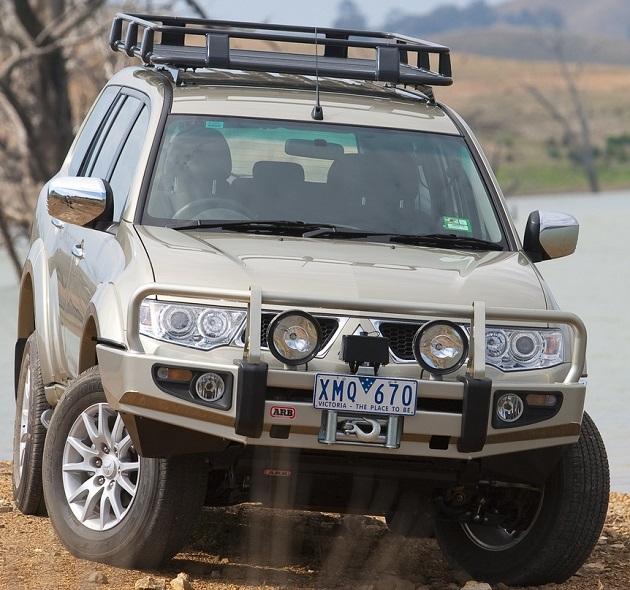 Алюминиевый багажник ARB 1790х1120мм. С установочным комплектом для Mitsubishi Pajero Sport с 2009 г.